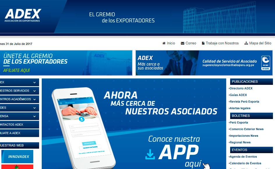 Portal Asociación de Exportadores