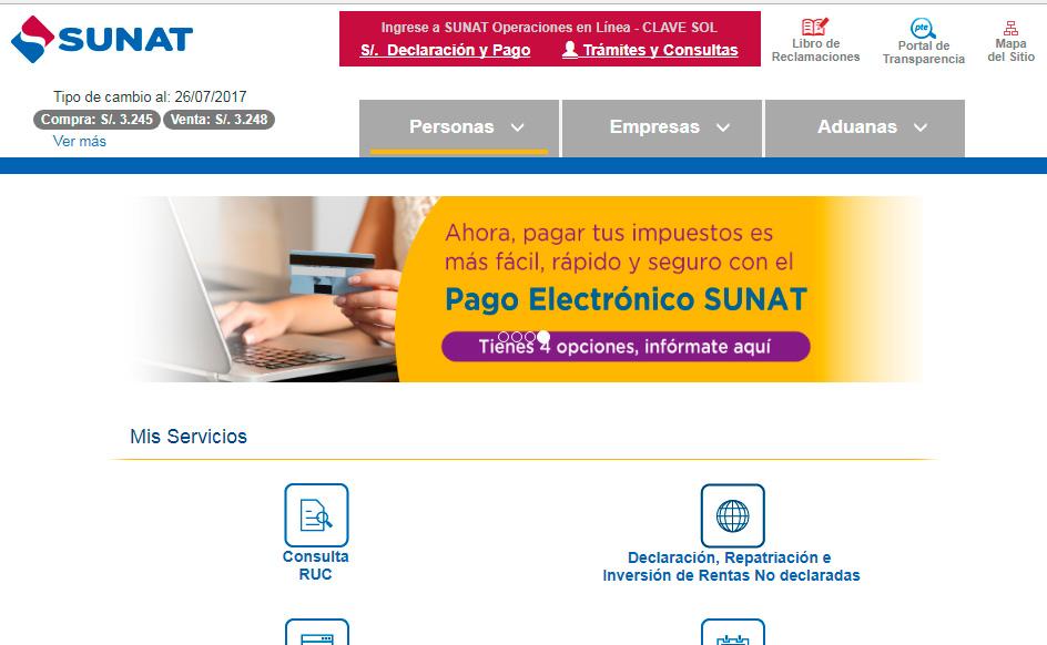 Portal Sunat