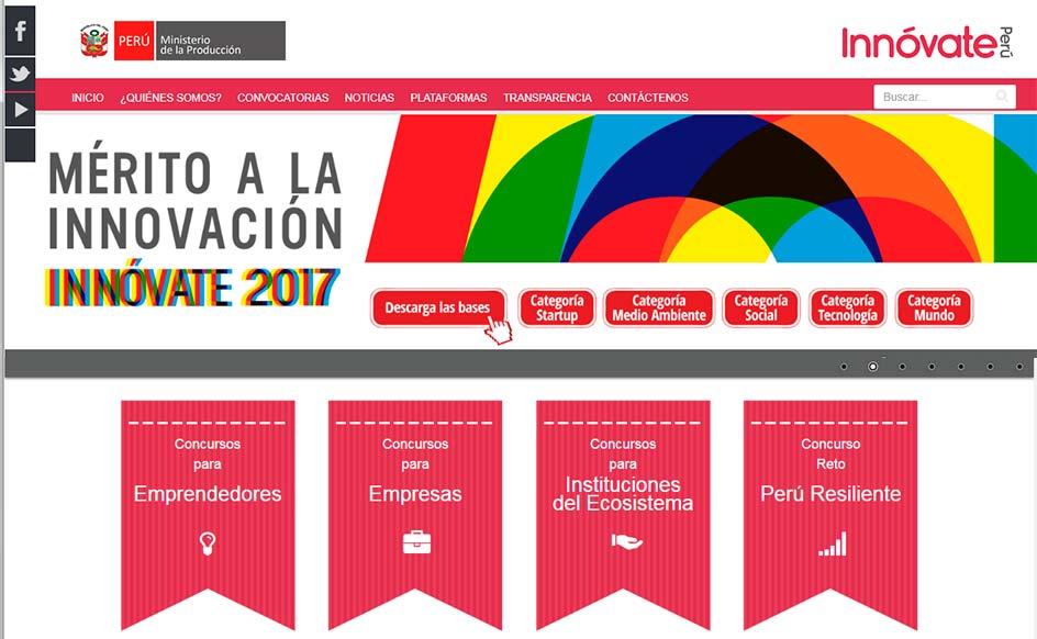 Portal Innovateperu