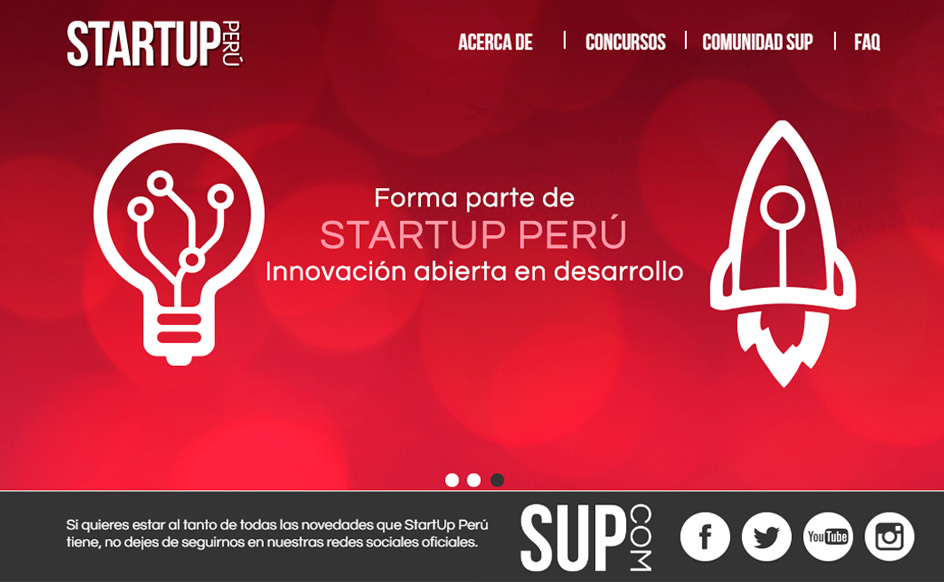 Portal Start Up Perú - Comunidad de Emprendedores
